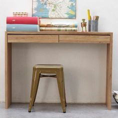 Console on pinterest consoles manhattan and tables - Table console chene ...
