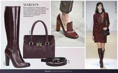 #BURGUND więcej na: www.kazar.com #kazar #fashion #inspiration #look #new #boots #autumn #winter #lookbook #women #elegant