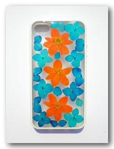 Handmade iPhone 4/4s case Resin with Dried by Annysworkshop