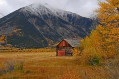 Twin Lakes Colorado, Colorado Rockies, Barns, How To Memorize Things, Cabin, Mountains, Landscape, Usa, House Styles