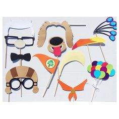 UP Inspired Photo Booth Props Birthday Photo by LetsGetDecorative