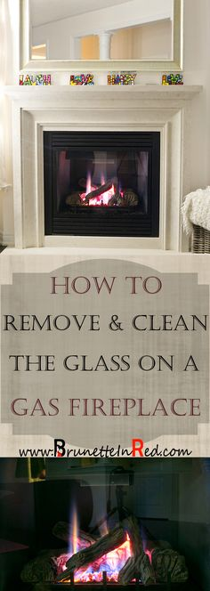 How To Remove U0026 Clean The Glass On A Gas Fireplace