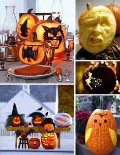 30 Pumpkin Carving Ideas