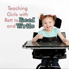 Teaching Girls with Rett to Read and Write – Rett University
