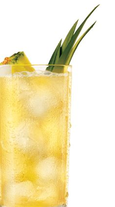 BACARDI Pineapple Fused. INGREDIENTS: 1 part BACARDÍ® PINEAPPLE FUSION™ Flavored Rum, 3 parts pineapple juice. METHOD: Pour ingredients over ice in a tall glass. Garnish with a pineapple wedge. I might think to infuse the pineapple with the rum.....hmmmm.