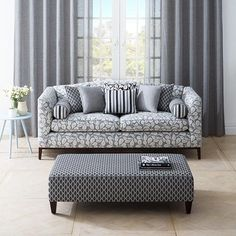 Get to Know Curtain and Upholstery Fabrics – Upholstery Care & Tips Fabric Dining Chairs, Fabric Sofa, Living Room Chairs, Fabric Decor, Home Living Room, Warwick Fabrics, Lounge Suites, Sofa Upholstery, Upholstered Chairs