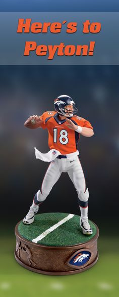 01f89be30 Here s to Peyton Manning s legendary career! Officially licensed by NFL  Properties LLC and NFL PLAYERS
