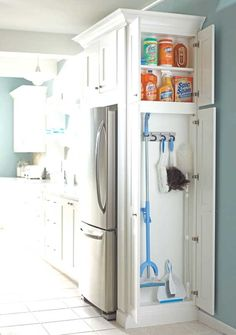 kitchen cleaning materials in Kitchen renovations