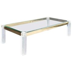 Shop coffee and cocktail tables and other modern, antique and vintage tables from the world's best furniture dealers. Vintage Coffee, Vintage Table, Table 19, Dining Table, Table Furniture, Cool Furniture, Lucite Coffee Tables, Ping Pong Table, Cocktail Tables