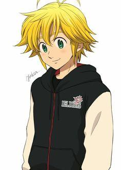 Otaku Anime, All Anime, Anime Love, Anime Guys, Manga Anime, Tatouage Seven Deadly Sins, Seven Deadly Sins Anime, 7 Deadly Sins, Meliodas And Elizabeth