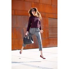 Check out our newest post on @desnjen ! Thank you @31philliplim & @dior! #philliplim #31philliplim #dior #christiandior #sweater #pants #ballerinas #sunglasses #shades #sunnies #futuristic #vienna #fashion #style #fashionblog #blogger #wu #campuswu #zahahadid #jump #excitement #colorful #diorissimo #fuchsia #model #editorial #blog #moda #anthropologie @liketoknow.it Shop the look here:  Pants - http://rstyle.me/cz-n/rw73qbb7vx Sweater - http://rstyle.me/cz-n/qx7j8bb7vx