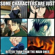 I agree except for L... TEAm Light all the way... Until HE F*CKED IT ALL UP IN THE END BAKA!!!