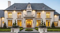 Luxury apartments are offering outrageous amenities to attract tenants . French Chateau Homes, French Mansion, Colonial Mansion, French Style Homes, Dream House Exterior, Dream House Plans, French Provincial Home, Mansion Designs, Luxury Homes Dream Houses