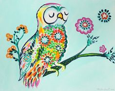 whimsical owl - Google Search