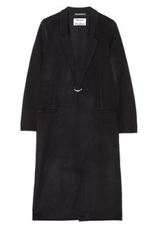 Windbreaker: Acne Studios Foin Doublé oversized wool and cashmere-blend coat