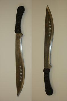The Book of Eli machete pattern - FREE - Messer