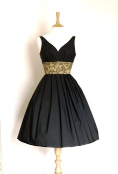 Black Taffeta and Gold Brocade by digforvictory