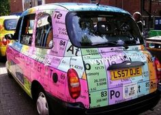 Periodic Table of the Elements car