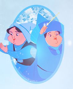 Merryweather. I will always wonder what her gift to Princess Aurora would have been if not for Maleficent.  Probably brains and attitude.