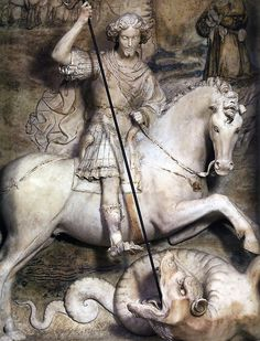Antonello Gagini (1478-1536)San Giorgio e il dragoPalermo, Chiesa di San Francesco d'Assisi