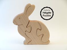 Bunny Wooden Jigsaw Puzzle