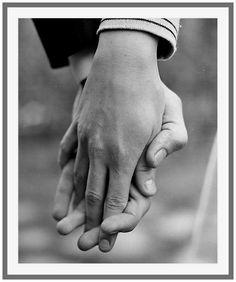 mains d'amoureux
