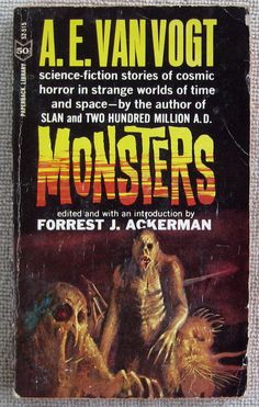 Science Fiction Monsters by A.E. van Vogt PB 1st Paperback Library 52-515