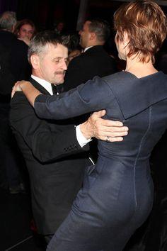Dancing Mikhail Baryshnikov and Lisa Rinehart. November 4, 2011