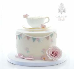 Edible Teacup cake by Cakes by Sian