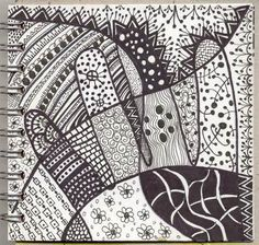 ... as zentangle, more traditional doodling but I really like this one