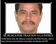 PRAXIS: TOMÁS BRITO LARA PRETENDE TRAICIONAR AL PRD