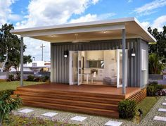 Smart Modular Shipping Container Homes Feel Bright & Spacious ...