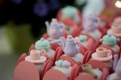 chá de panela desenho marrom e rosa - Pesquisa Google