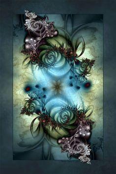 Color Inspired WINTER DELIGHT by ~d-b-cDigital Art / Fractal Art ©2008-2012 ~d-b-c
