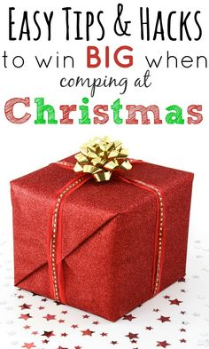 Easy tips and hacks to win big when comping at Christmas - my guest post for Skint Dad!