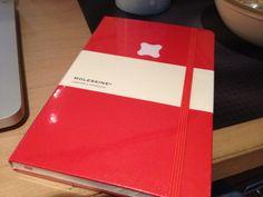 """The new Fi Moleskine notebooks arrived"". Moleskine Notebook, Lost & Found, Notebooks, Notebook, Laptops"