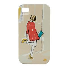 kate spade new york / resin iphone case garance girl