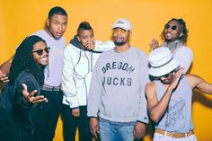 The Internet - Odd Future members Syd tha Kyd and Matt Martians, as well as Patrick Paige II, Christopher Smith, and Steve Lacy