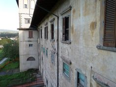 Montelupo Fiorentino near Florence (Italy) - the Medici Villa in state of deep decay.  The Villa is currently a criminal insane asylum.