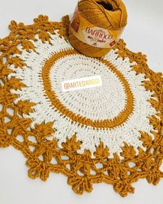 1 million+ Stunning Free Images to Use Anywhere Crochet Placemat Patterns, Doily Patterns, Crochet Motif, Crochet Designs, Crochet Lace, Crochet Stitches, Crochet Decoration, Crochet Home Decor, Crochet Crafts
