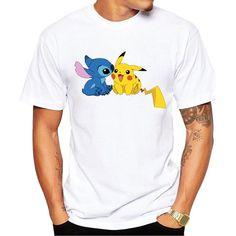 f789f2f5 Good Looking Fashion Pokemon Pattern Men's Polyester T-Shirt Printed  Shorts, Casual Shirts,