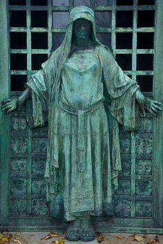 Tomb Door 5 - Pere Lachaise Cemetary