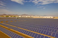 Ironwood prison solar electric system for the State of Califrnia. Engineered by Blue Oak Energy in 2008.