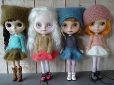 new collection for 4 girls by madame_ze_cat, via Flickr