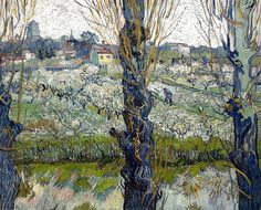 Vincent van Gogh - View of Aries, 1889 at Neue Pinakothek Munich Germany by mbell1975, via Flickr