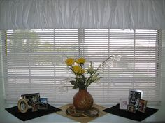 Sew or No Sew Window Topper  hides tops of blinds Sewing Crafts Free Patterns and Free Lessons