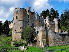 This noble mash-up in eastern Luxembourg is part Medieval, part Renaissance, all castle