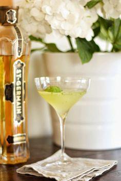 basil, lemon, vodka & st. germain
