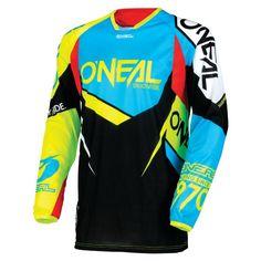 O/'Neal Element Kinder Jersey Shred rot Kids Trikot MX DH MTB BMX Motocross