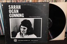 "Sarah Ogan Cunning ""Girl of Constant Sorrow"" RARE Original LP 1965 with 31-page book, Folk Legacy Records (Folk Vinyl Record)"